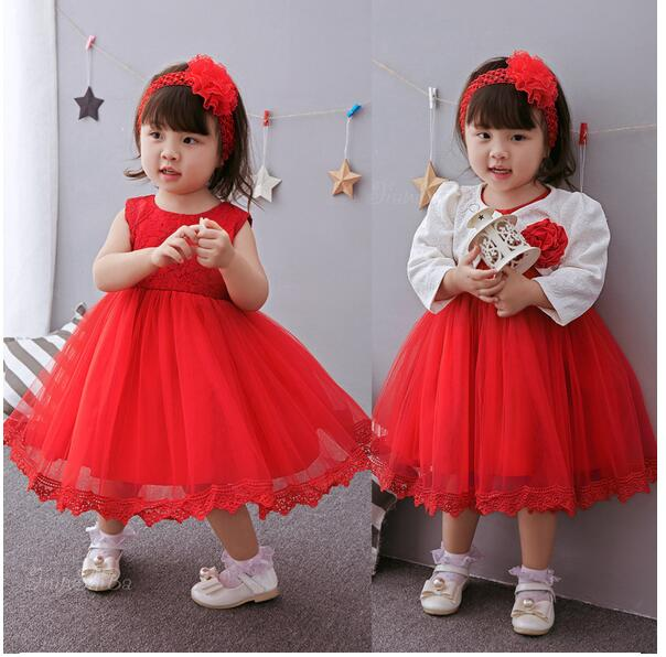 Baby Girls Pageant Formal Dresses 2017 Baptism Bow Lace Cute Infant Girls Princess tutu Dress Kids Christmas Birthday Dresses baby girls pageant formal dresses 2017 baptism bow lace cute infant girls princess tutu dress kids birthday party dresses pink