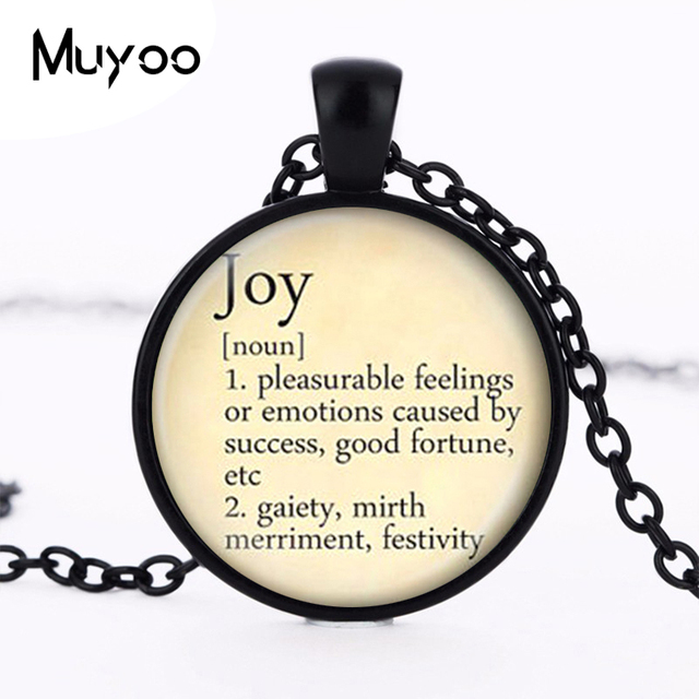 Joy necklace vintage dictionary definition of joy word pendant word joy necklace vintage dictionary definition of joy word pendant word joy jewelry hz1 aloadofball Choice Image