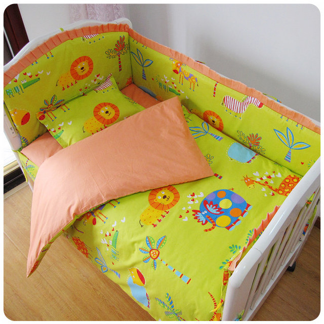 Very Soft And Most Comfortable Crib Bedding Sets Newborn Baby Bed Set Contain Per
