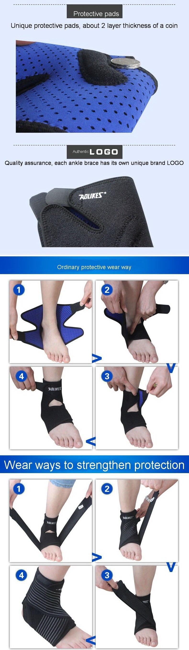 tobilleras deportivas esportes protetor de tornozelo com