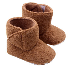 New Arrival Soccer shoes with font b ankle b font Winter Baby font b Boots b