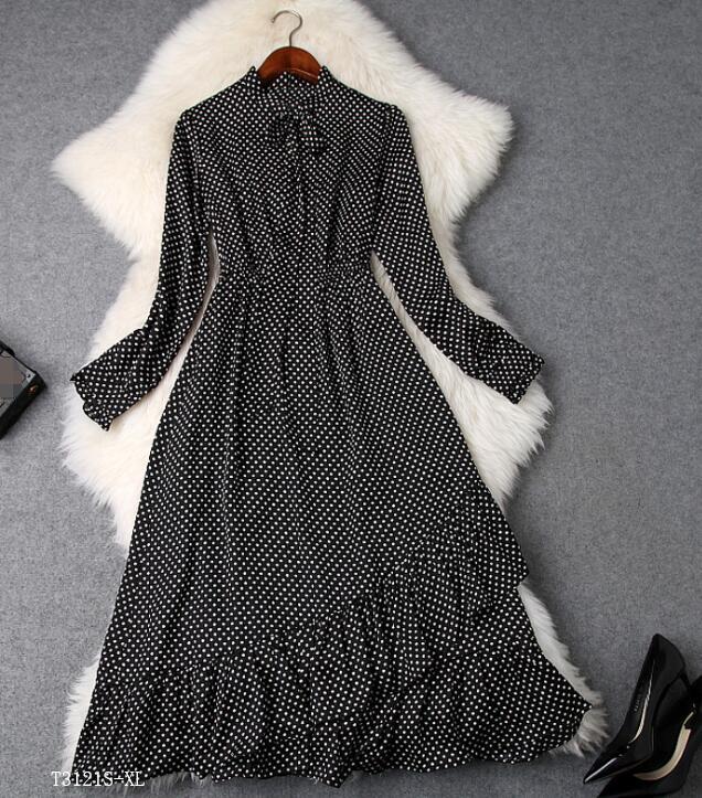 Femmes Vêtements D'été Photo Slim Printemps Européen Robe Mode Style Patchwork Tempérament Nouveautés 2019 Color T3121 photo Color Vintage SvwYqCcx0U