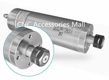 Low Speed 2.2Kw D80mm AC220V drilling Metal spindle motor 1500rpm-12000rpm water Cooled metal milling spindle motor - DISCOUNT ITEM  0% OFF All Category