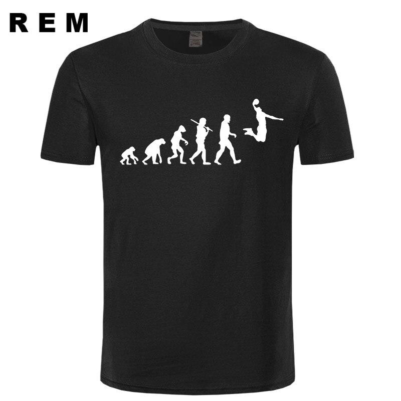 EVOLUTION basket T-shirt Slam Dunk Imprime T Shirts Hommes Manches Courtes o-cou Coton Hommes mode T-Shirts hauts