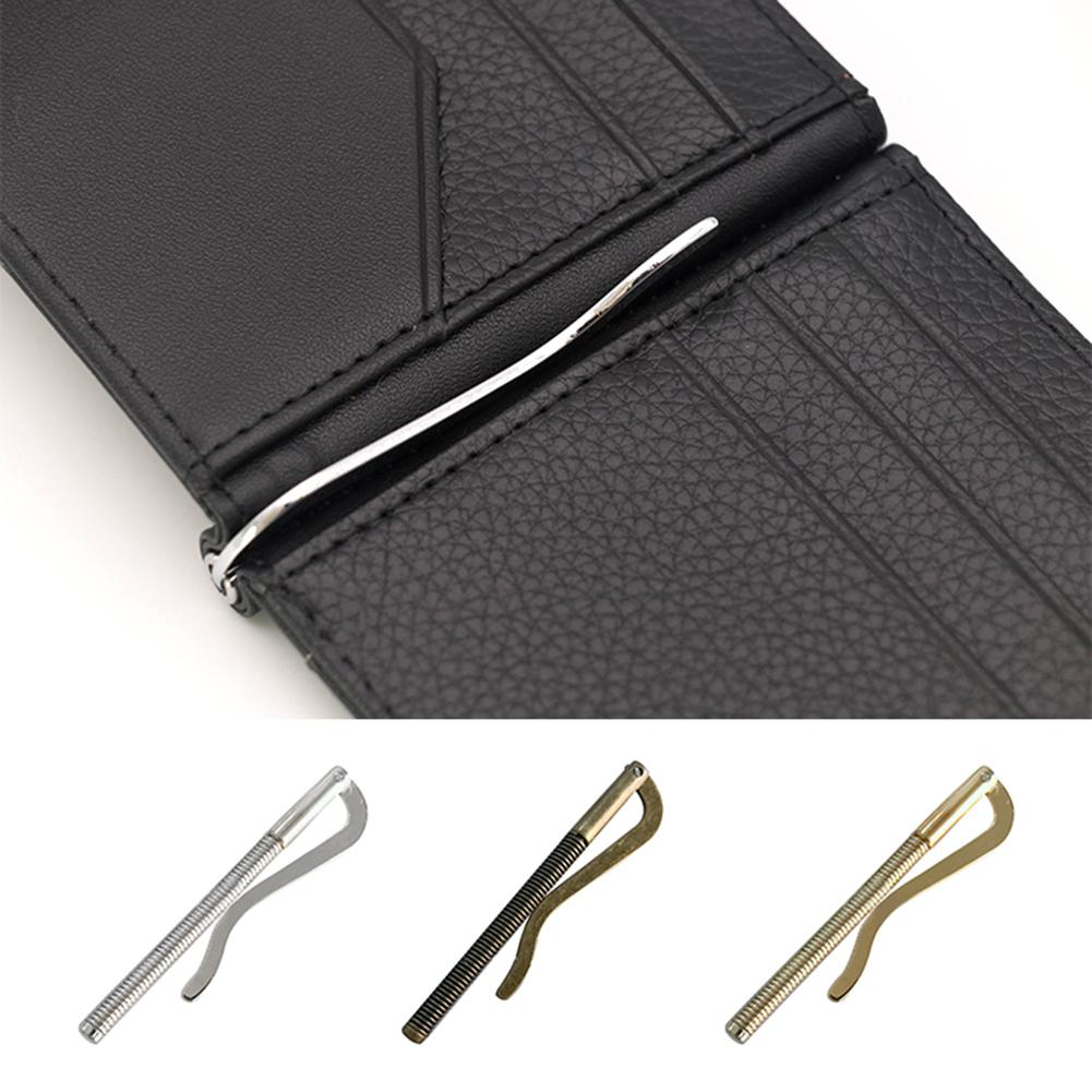 Firecolor Metal Bifold Money Clip Spring Clamp Case Holder Bar Wallet Replace Parts