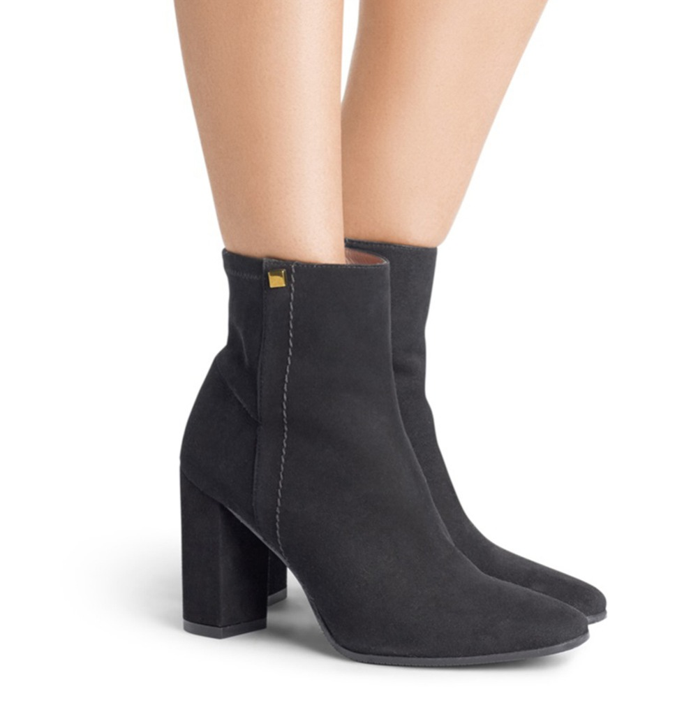 Winter Ankle Bootie Women Plus Big Size Bootie Daily Shoes High Heel Pumps цены онлайн