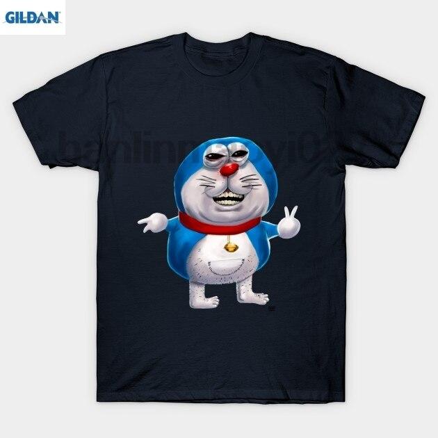 GILDAN Ugly Doraemon T Shirt