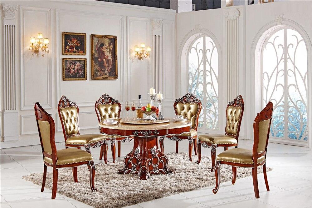 US $1800.0 |Dimensioni tavolo da pranzo con sedie mobili sala da pranzo  personalizzato-in Arredo per sala da pranzo da Mobili su AliExpress