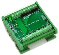 DIN Rail Mount Screw Terminal Block Adapter Module For UNO R3