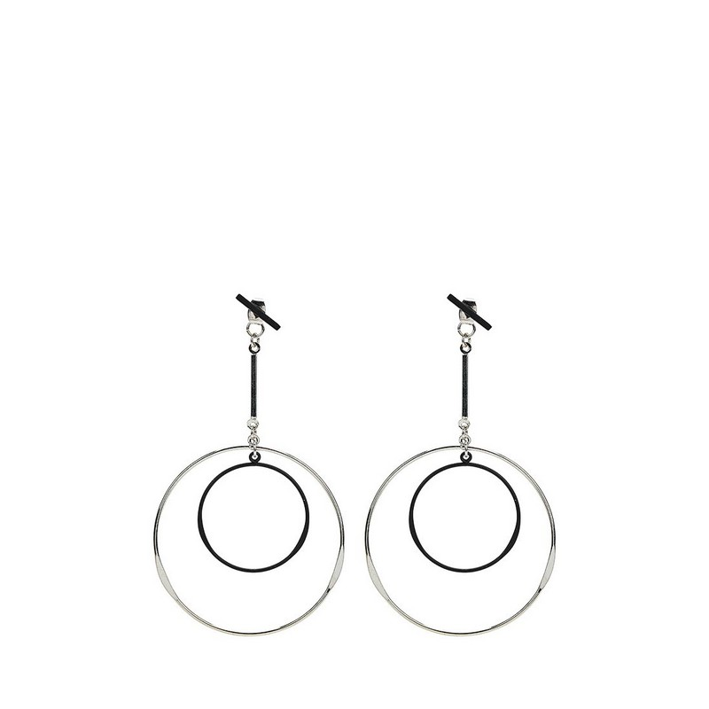Jewelry & Accessories>>Fashion Jewelry>>Earrings>>Stud Earrings MODIS M181A00564 luo linglong original s925 sterling silver earrings female song type triangle earrings earrings earrings temperament high end gift