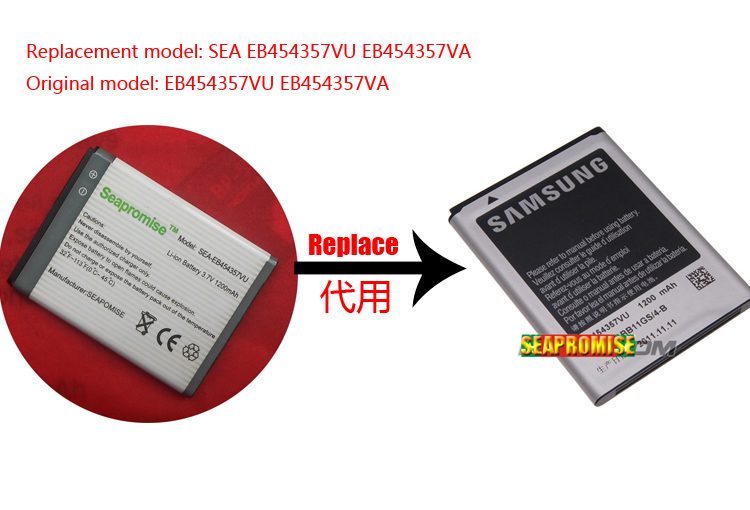 freeshipping 100PCS EB454357VU <font><b>battery</b></font> for Galaxy Chat GT-B5330,GT-B7810,GT-S5301,GT-B5510,GT-<font><b>S5300</b></font>,GT-S5368,GT-S5369,GT-S5380 image