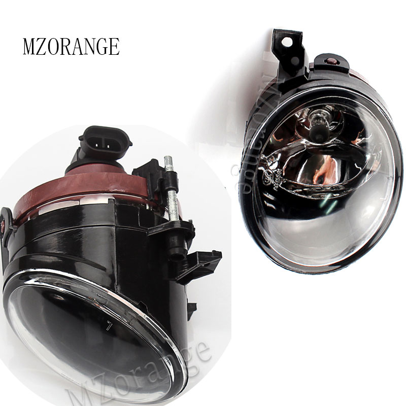 MZORANGE LED Car <font><b>Accessory</b></font> Fog Light for Volkswagen <font><b>VW</b></font> Sagitar Jetta <font><b>5</b></font> <font><b>Golf</b></font> <font><b>5</b></font> <font><b>GTI</b></font> MK5 Front Bumper Driving Fog Light Lens image