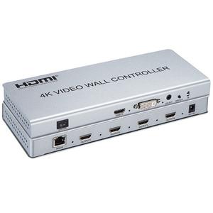 Image 5 - Kontroler wideo ściany 2x2 1 HDMI/DVI wejście 4 wyjścia HDMI 4 K TV procesor obrazy szwy 4 TV pokazuje ekran forniru