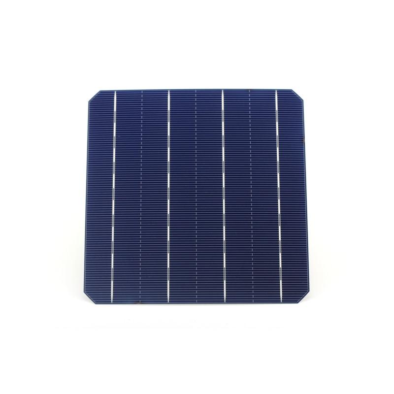 700Pcs Photovoltaic Mono 156 * 156MM Monocrystalline Silicon Solar Cells A Grade 6x6 For DIY PV Solar Panel