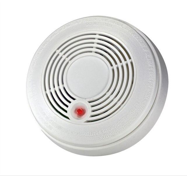 SmartYIBA Smoke And CO Sensor Combination 2 In 1 Carbon Monoxide Detector & Fire Smoke Alarm Detector Composite  Home Security