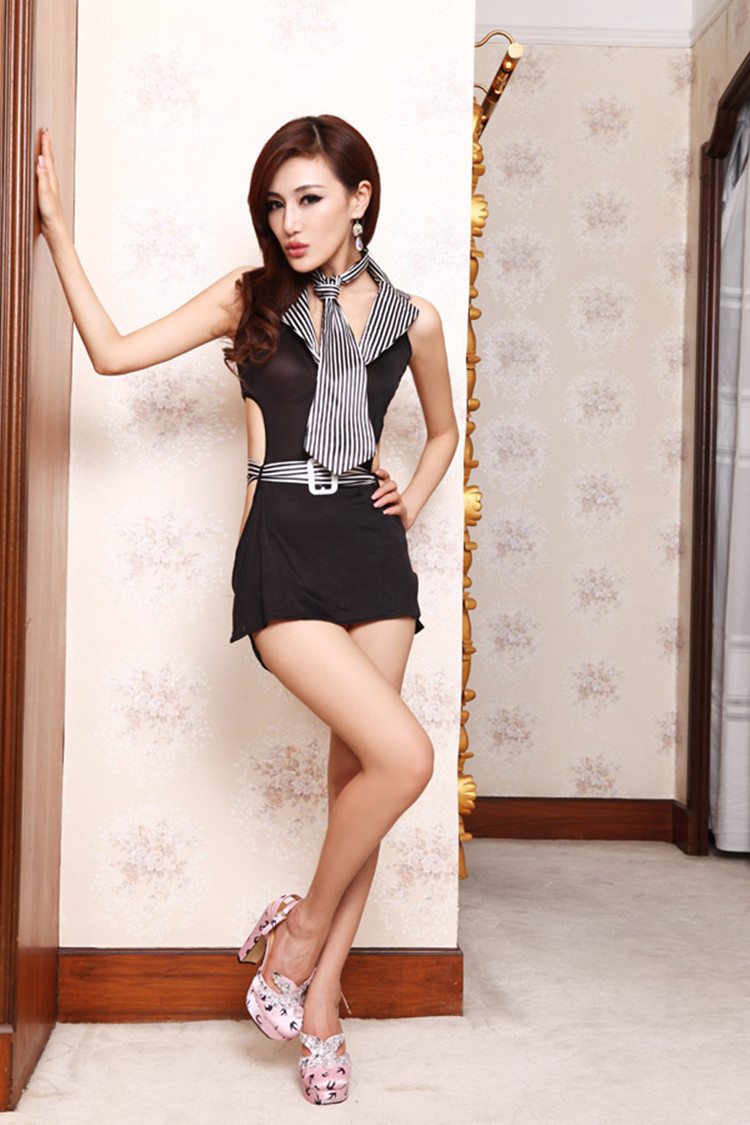 sexy underwear hot women lace uniforms temptation backless office