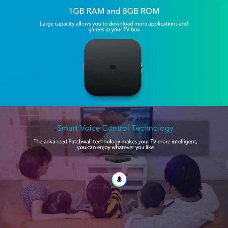 Image 4 - Xiaomi Mi Box 4C 4K HDR TV Box Android 6.0 Amlogic Cortex A53 