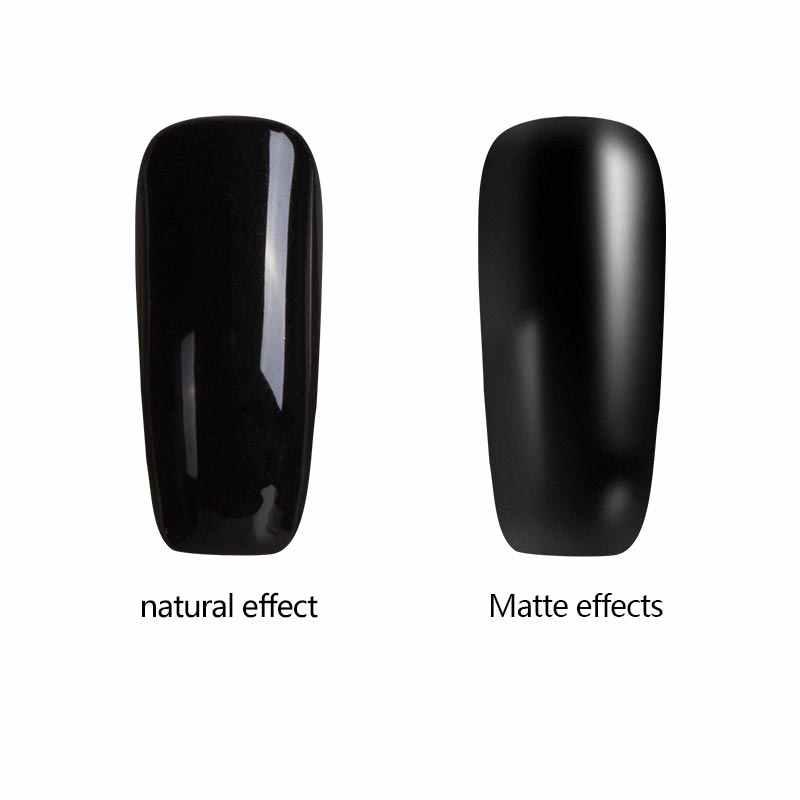 Azure 1 шт Матовый верхний слой ногтей UV Гель-лак Длительное матовое верхнее покрытие 8 ML светодиодный UV Soak Off Лидер продаж UV гель для ногтей