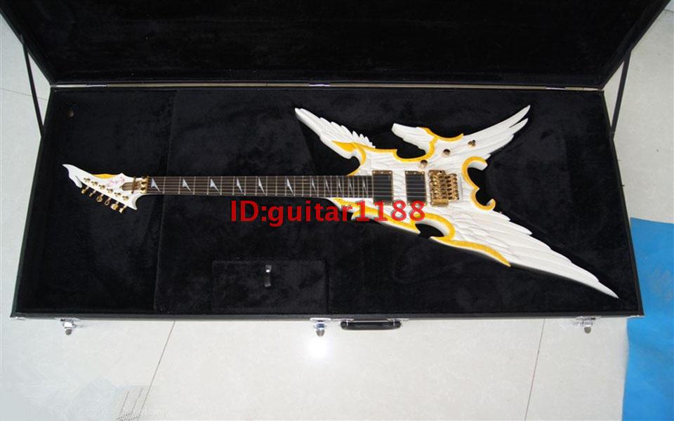 new Big John hawk fine electric guitar  hardcase in black lucky john croco spoon big game mission 24гр 004