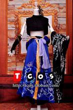 Vocaloid font b Cosplay b font Kaito font b Women s b font Dress Kimono Gown