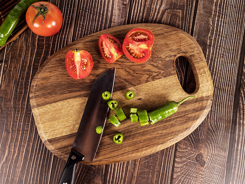 1Pc Kitchen Cutting Board Wood Chopping Blocks Food Serving Plate Wooden Sushi Pizza Bread Tray Wood Cutting Board Kitchen Tools (14)