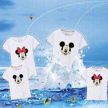 Matching Family Mickey and Minnie T-shirts