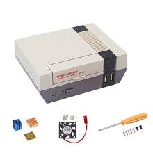 Best Buy NES NESPI Case Plastic Box Retroflag for RetroPi Raspberry Pi 3 2  + Screwsdriver + Fan + Heat Sink + Power Adapter with Switch
