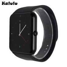 Bluetooth smartwatch gt08 smart uhren für iphone 6/puls/5 s samsung s4/note 3 htc android phone smartphones android wear