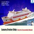 Frete grátis diy modelo de navio de cruzeiro de luxo montado modelo educacional brinquedo crianças presentes modelo do navio atacado é mais barato