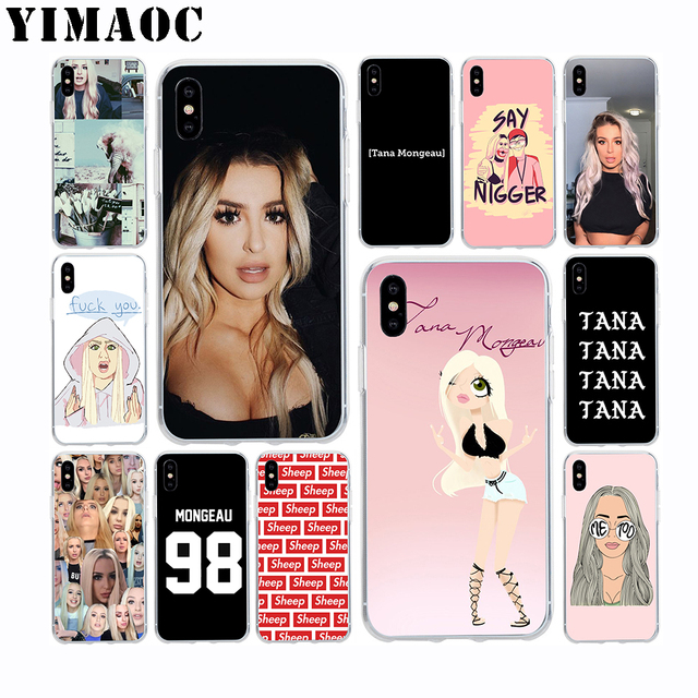 new york ebcd9 5fb2f US $1.99 20% OFF|YIMAOC Tana Mongeau Sheep Soft TPU Silicone Case for Apple  Iphone Xr Xs Max X 10 8 Plus 7 6S 6 Plus SE 5S 5 7Plus 8Plus Cover-in ...