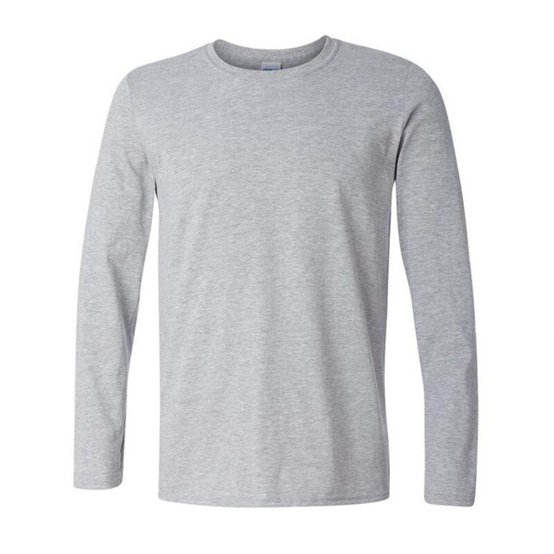 Brand New Classic Men T shirt Long Sleeve O neck Mens T-shirt Cotton Tees  Tops Mens Brand tshirt Plus size XS- XXL Sweatshirts f407f23c5a5