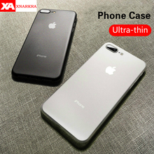 Ultra Thin 0.3MM Matte Phone Case For iPhone 7 8 6 6s Plus Luxury Hard PC Protective Cover For iPhone X XR XS MAx 5 5s SE Coque стоимость