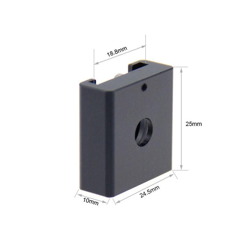 2PCS Cold Hot Shoe Hotshoe Adapter fr DSLR Rig Flash Light Microphone Blackmagic Cinema Foto Camaras Parts Accessories C0993 (2)