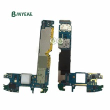 Binyeae оригинальный G920F разблокирована основной материнская плата 32 ГБ Замена для Samsung Galaxy S6 G920F Android 6.0 или 7.0 чистой IMEI