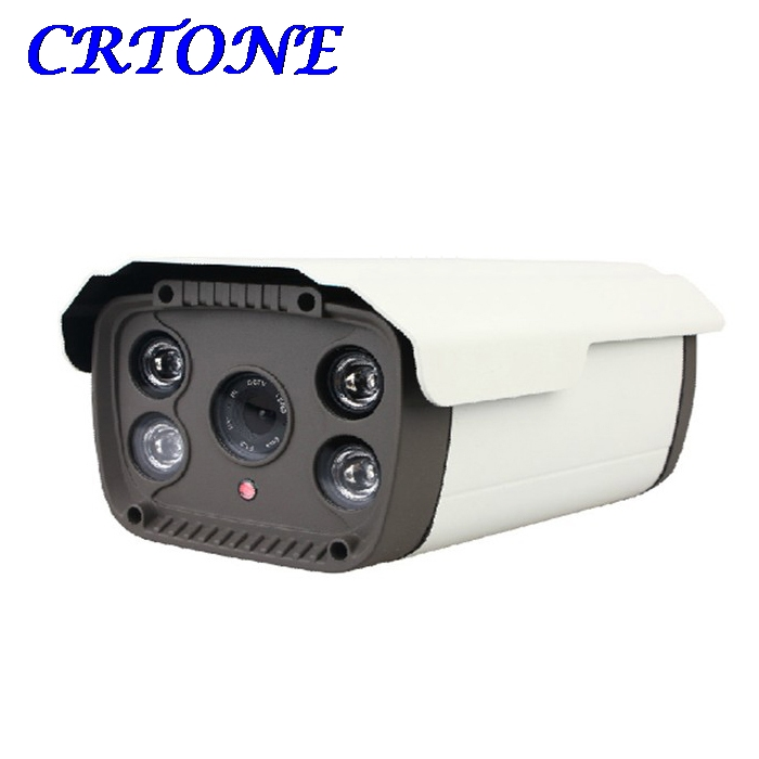 ФОТО 1200TVL CMOS Security Camera Outdoor Type Surveillance CCTV Camera with IR-CUT Perfect Night Vision 4 LED Arrays