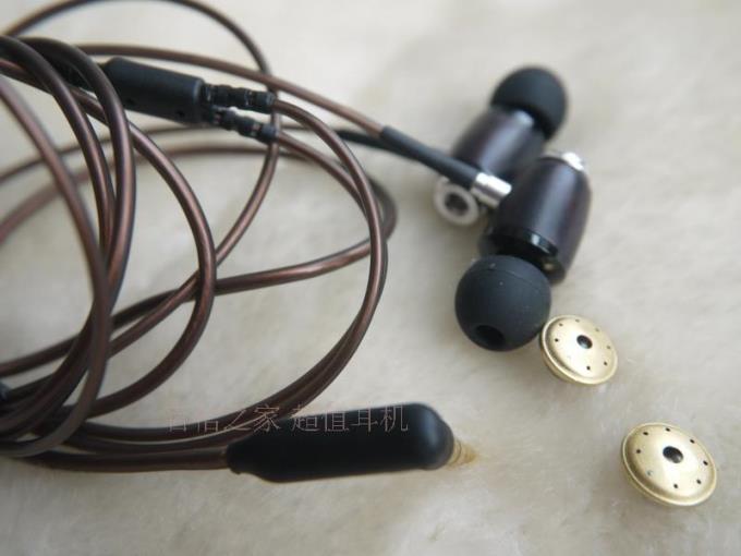 diy earphone 10mm speaker Ebony shell