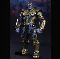 Горячие игрушечные лошадки Совместимость Marvel танос в Мстители 36 см BJD суставов подвижный фигурку для подарок на Новый год