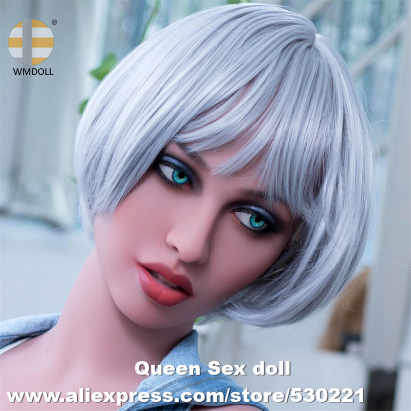 NEW WMDOLL Top Quality Sex Doll Head For Real Adult Doll Japanese Love Dolls Heads Realistic Oral Sexy Toys For Men top quality oral sex doll head for japanese realistic dolls realdoll heads adult sex toys