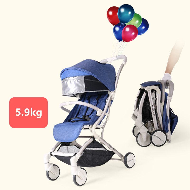 2019 New Baby stroller Lightweight Baby Carriages Portable Travelling Luxury Umbrella Pram Can Sit and Lie 2019 New Baby stroller Lightweight Baby Carriages Portable Travelling Luxury Umbrella Pram Can Sit and Lie