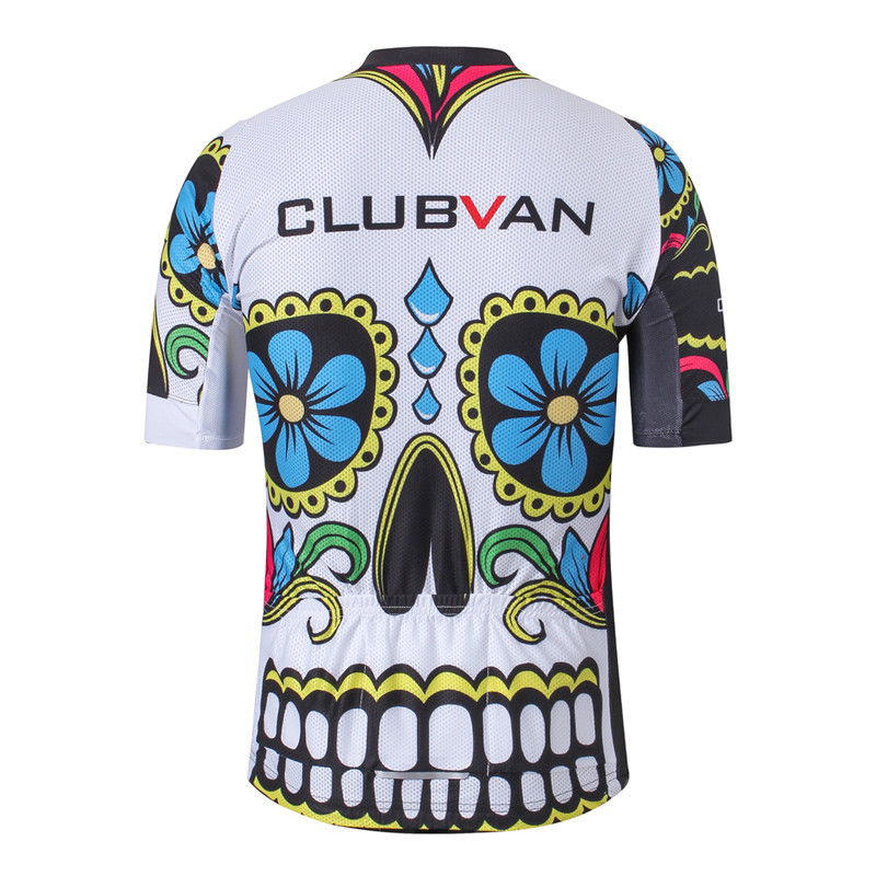 a9dfb8f2a Weimostar White Black Skull Cycling Jersey 2018 Pro Team Bike Jersey MTB  Bicycle Wear Clothes Summer Downhill Cycling Clothing-in Cycling Jerseys  from ...