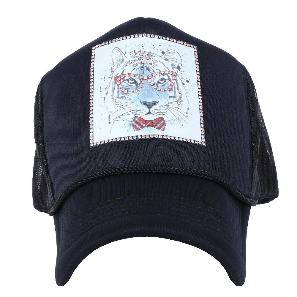 e4370e426e4 new men s women s casual summer baseball cap rhinestone luxury hats custom  designer animal model outdoor girl boy sun casquette-in Baseball Caps from  Men s ...
