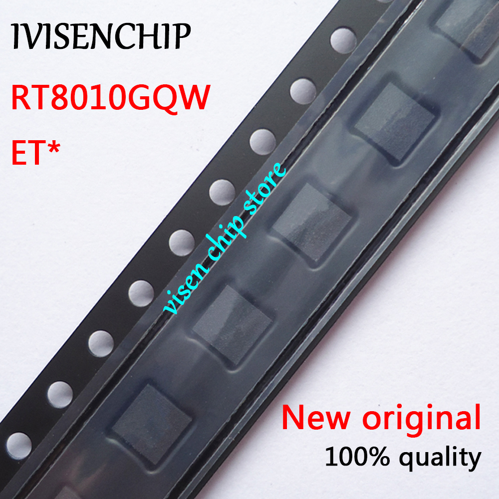 ᗑ 10pcs RT8010GQW RT8010 (ETV ETJ ETW...) QFN-6 - a281 a0becc16ffdc