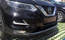 1pc /set CHROME FRONT LOWER MESH GRILL GRILLE COVER TRIM GUARD MOLDING ACCESSORIES FIT FOR 2017 2018 NISSAN QASHQAI J11 цены