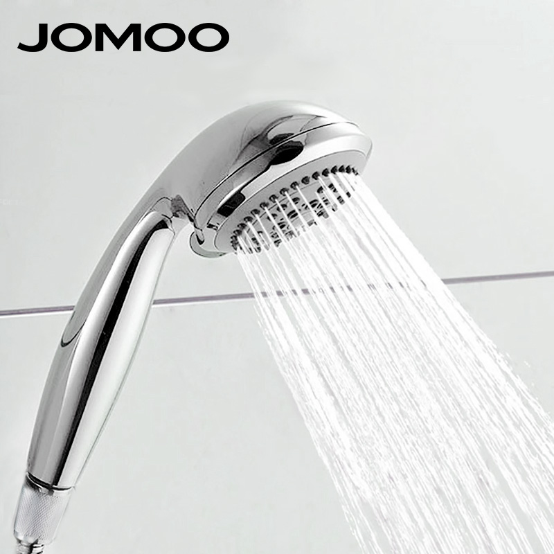 Us 23 7 Jomoo Shower Head Hand Hold Bathroom Bath Abs Round Nozzle Water Saving High Pressure Watering Can In Heads