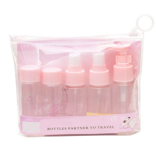 5 Шт./компл. Компактный Легкий Портативный Пластиковые Путешествия Косметика Розлива Костюм Прессованные Бутылка Духи Спрей Бутылка GUB #