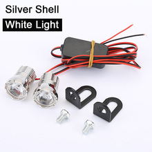 2pcs Waterproof Eagle Eyes Auto Lamp 22mm Daytime Running Light DRL Led Headlights Eye LED