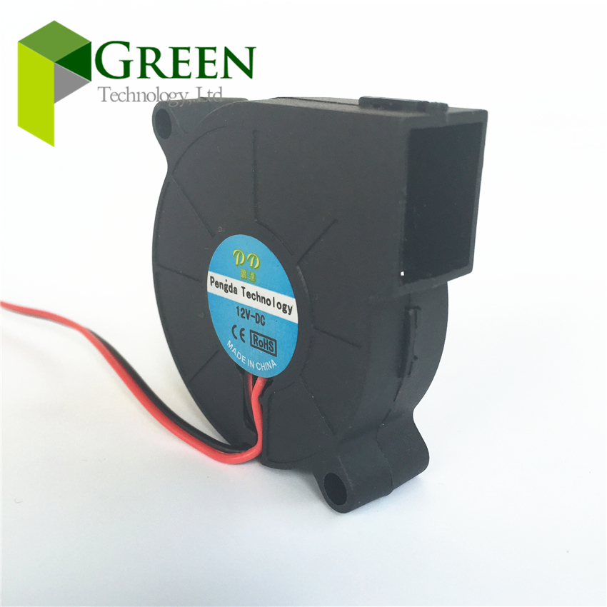50mm Blower 5015 5V 12V 24V For 3D Printer Humidifier Centrifugal Fan Industrial Blower Or Projector Blower Centrifugal Fan 2pin