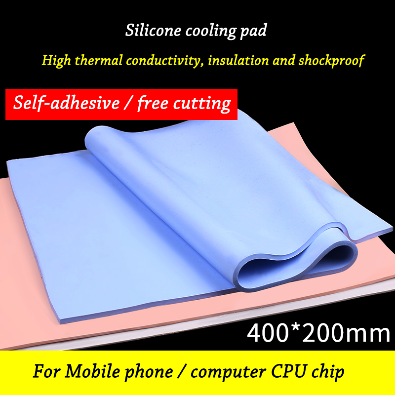 Silicone Thermal Pad Sheet Computer CPU GPU Chip Heat Sink Heatsink Cooling Conductive Thermal Pad
