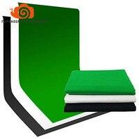Бесплатная shipping100 % фотографии фото видео студия хлопок муслин Задний план фон multipack (черный, белый цвет зеленый) больше размеров Вариант