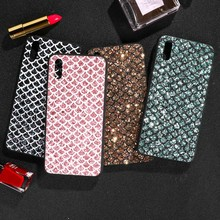 Case For Vivo Y97 Bling Flash Chip PC TPU Cover Y91 Y95 Y93 Y17 X21 UD X23 V11 V15 Pro Anti-kncok Covers Shell